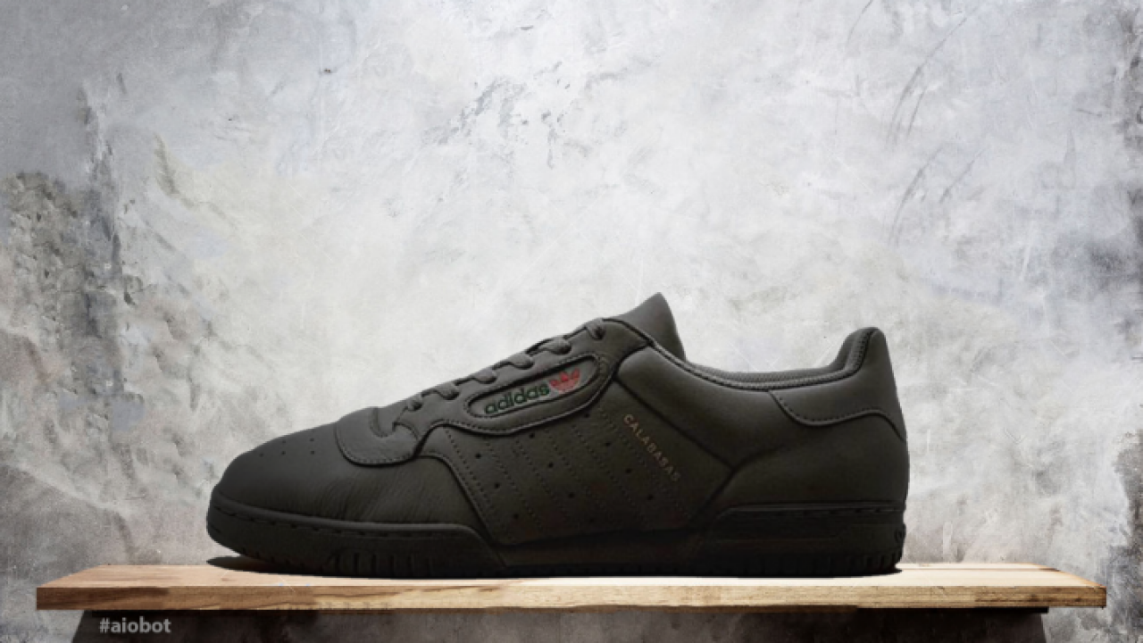d70deef335e0b The Black Yeezy Powerphase Calabasas is Dropping Soon