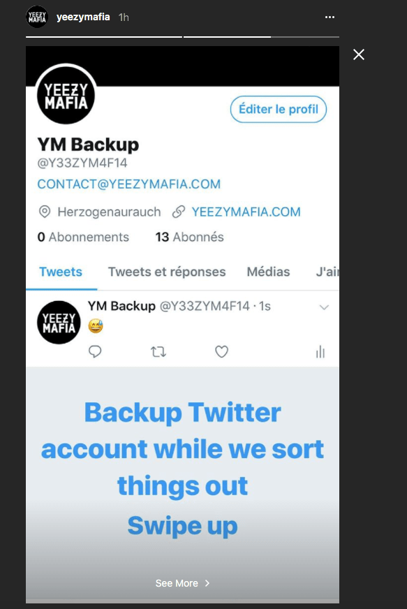 Yeezy Mafia Twitter suspension