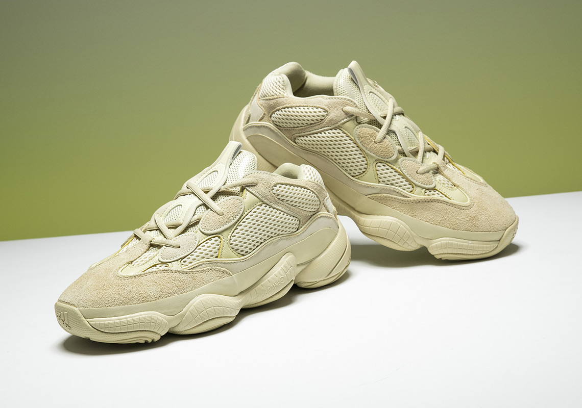 f32cee95cf4 A Major Discount on The Yeezy 500 Super Moon Yellow This June!
