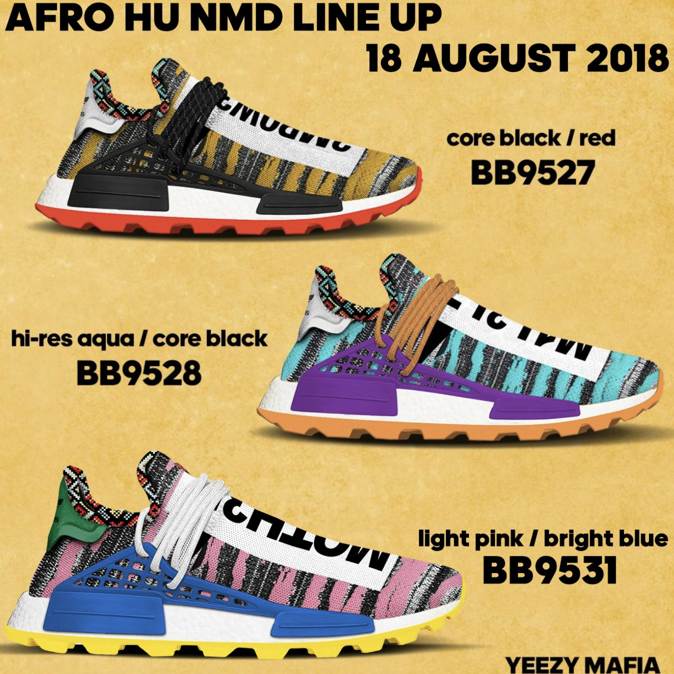79fffa47896b9 Adidas Pharrell NMD Solar Pack  The Eccentric Collab You Must Cop ...