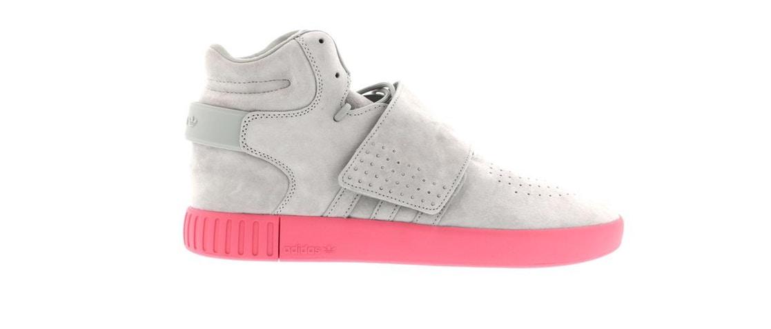 Adidas Tubular Strap Solid Grey Pink