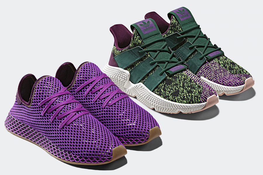 new style d35c5 18827 adidas dragon ball z Deerupt Gohan Prophere
