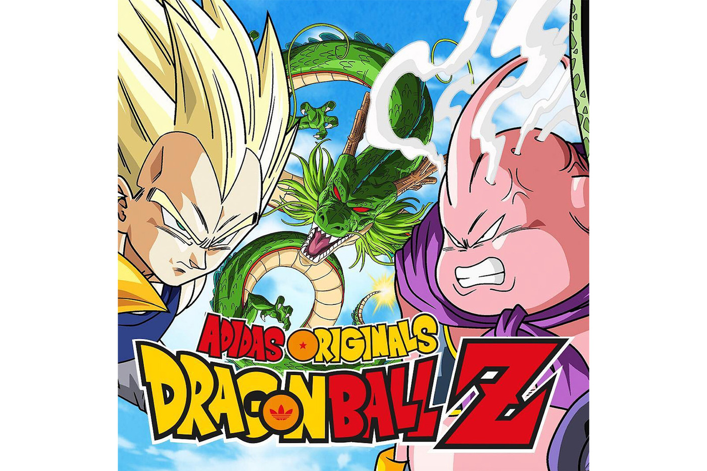 official adidas dragon ball z adidas originals poster