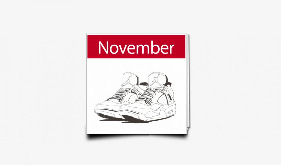November Sneaker Releases