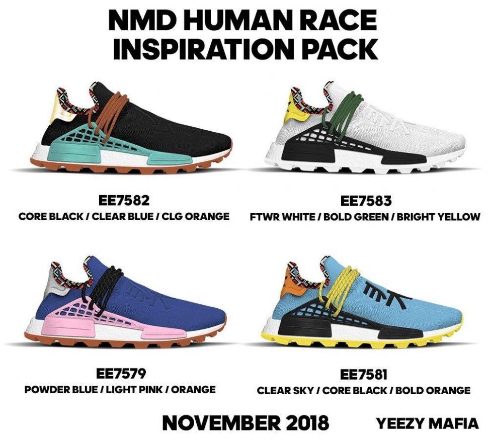 Pharrell NMD Inspiration Pack