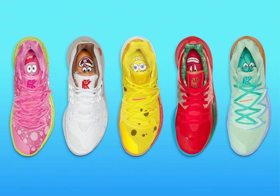 Nike Kyrie Spongebob