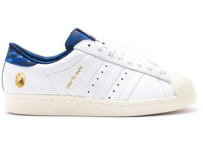Adidas Bape Superstar 80s White