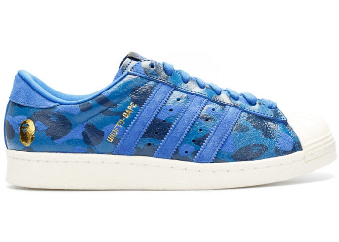 Adidas UNDFTD Bape Superstar Blue