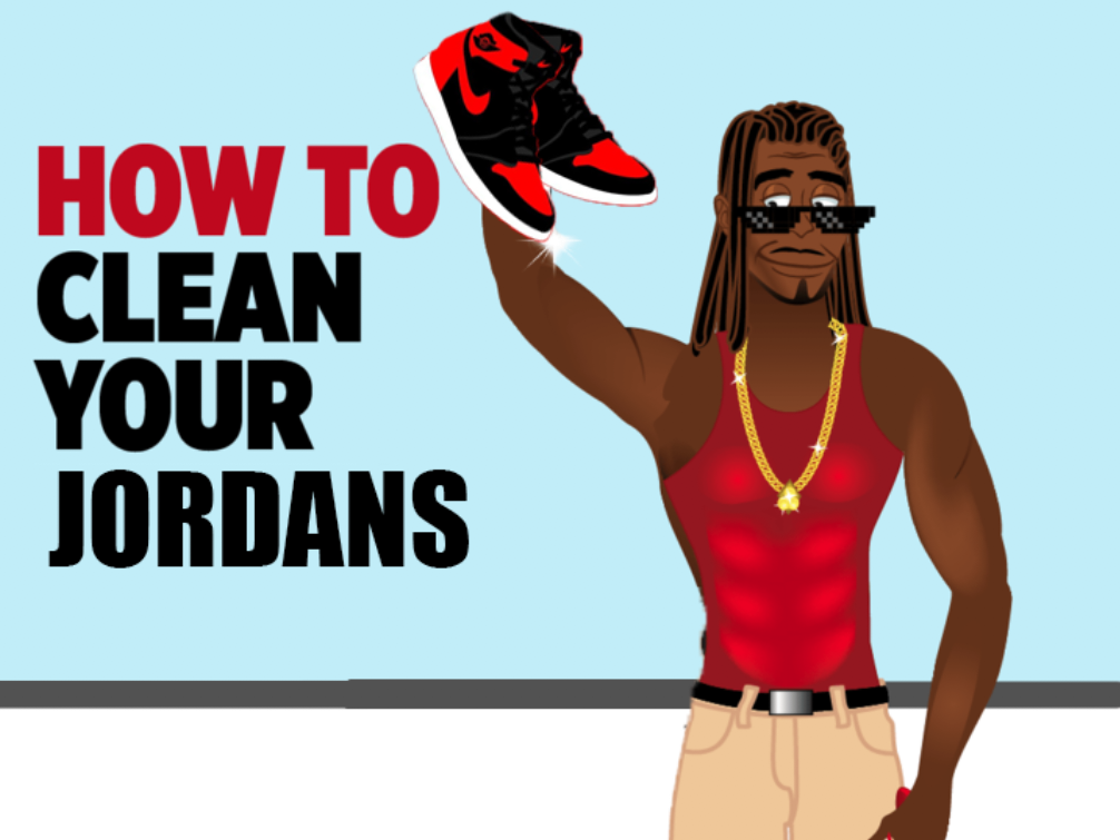 How to clean Jordans