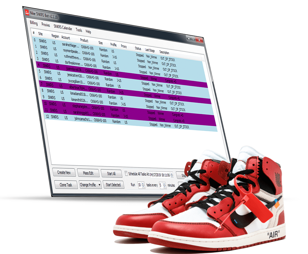 piano Propuesta entre  Nike SNRKS BOT - Only working Nike bot in the market