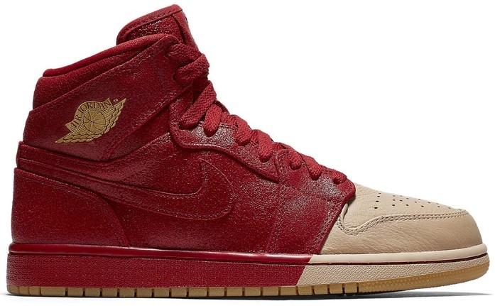 Air Jordan 1 Dip toe Red