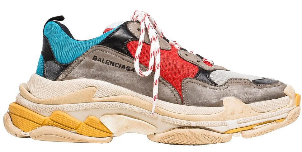 Balenciaga triple S 1 Dad shoes