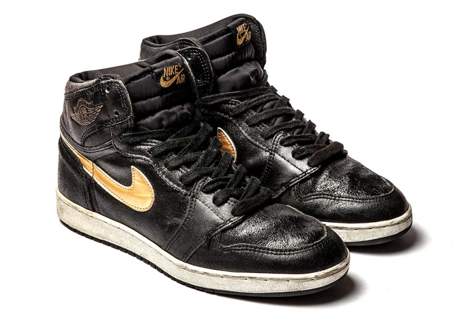Friends and Family black and gold aj1