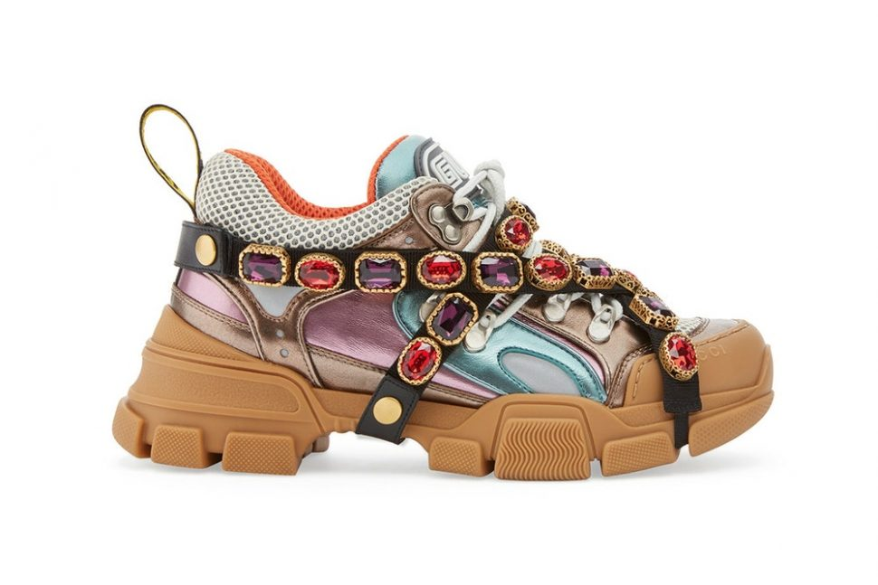 Gucci flashtrek dad shoes trend