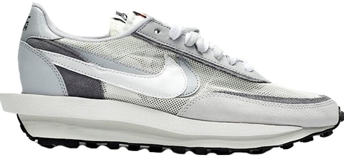 new sneaker releases sacai waffle grey