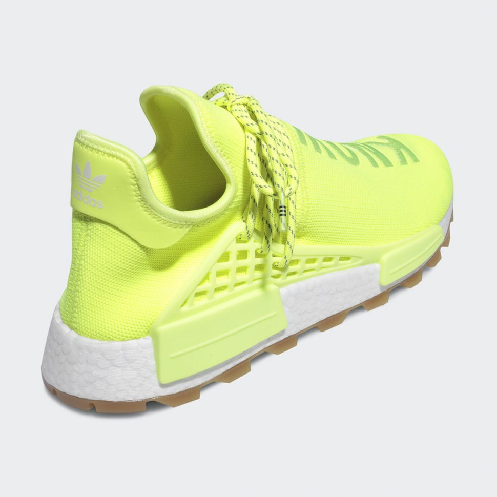 Adidas Pharrell NMD Neon Know Soul