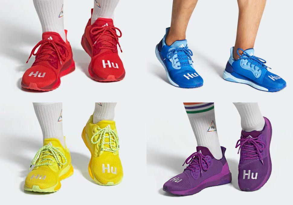 Adidas Pharrell SolarHu Glide