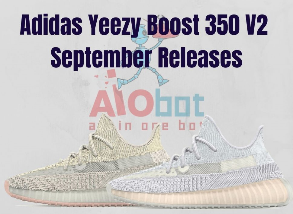 Adidas Yeezy Boost 350 V2 September Releases