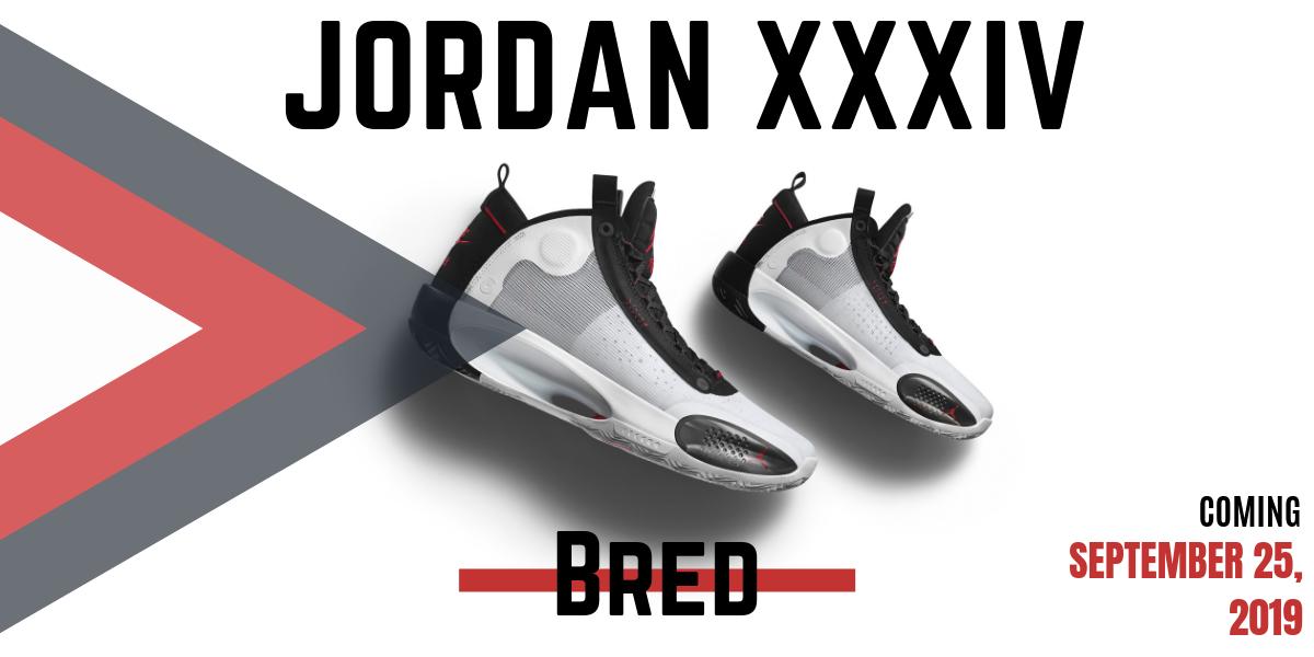 Jordan XXXIV Bred