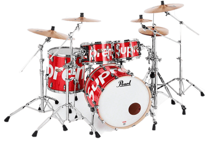 Supreme Pearl Drum set