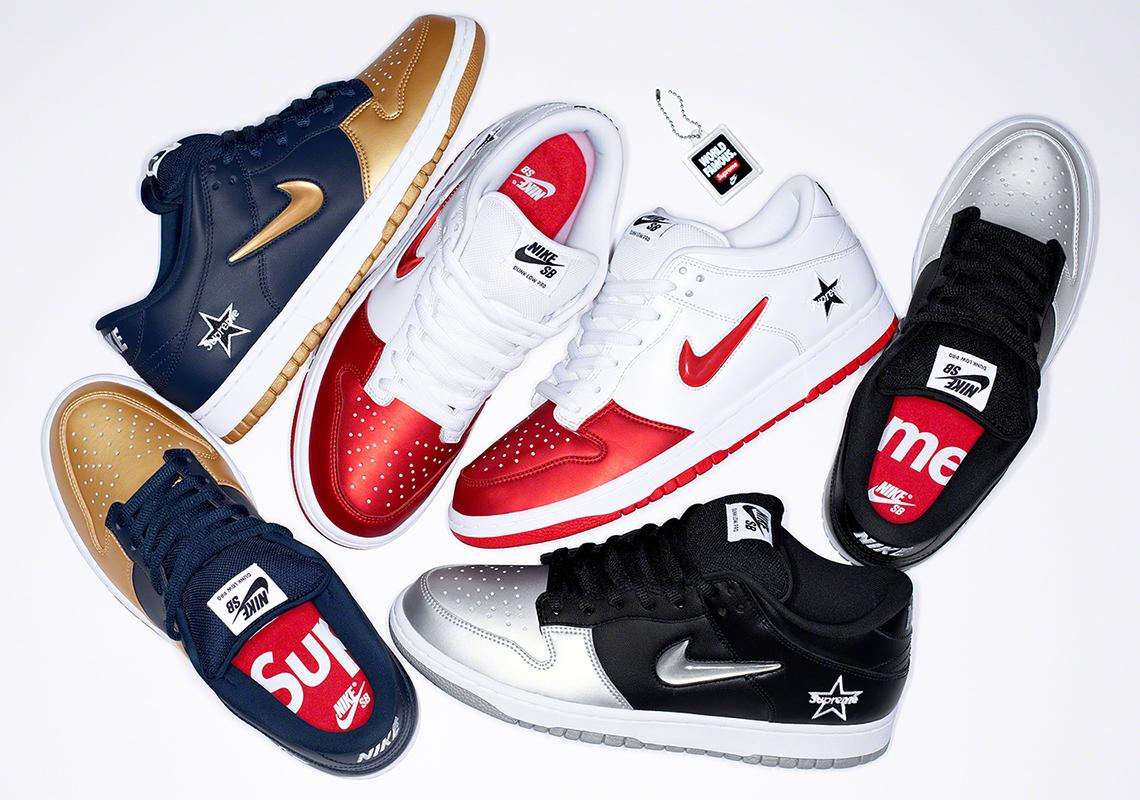 on sale 56eab 1334d Next Supreme Drop: Supreme Nike SB Dunk Low [2019] | AIO bot