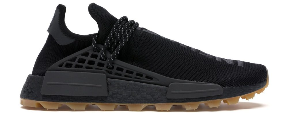 Adidas NMD Hu Trail Pharrell Now Is Her Time Black Sneakers