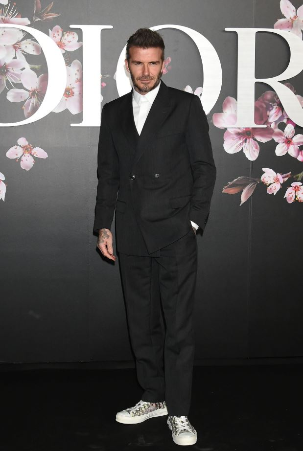 David Beckham - Dior Fashion Show Classic Sneakers