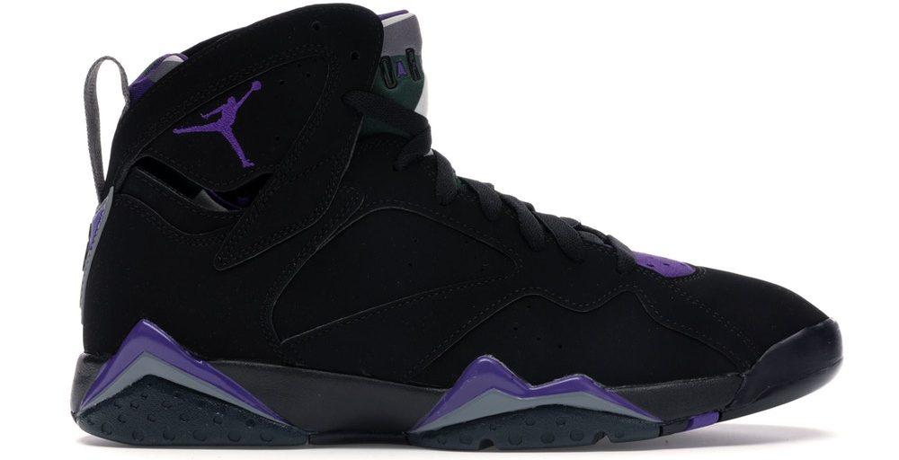 Jordan 7 Retro Ray Allen Bucks Black Sneakers