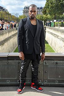 Kanye West in Nike