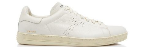 Tom Ford Warwick Grained Leather Sneaker