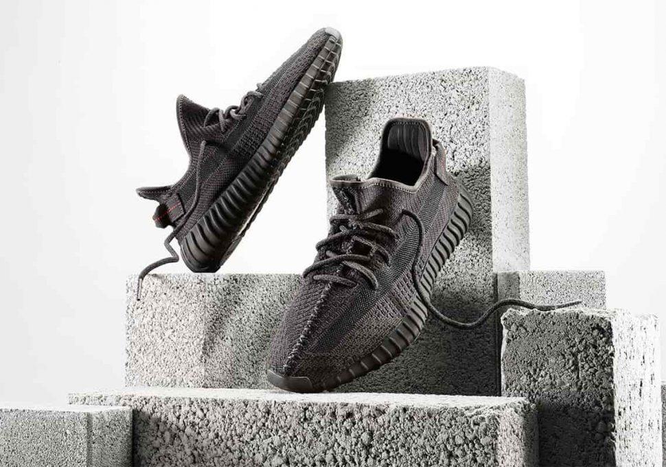Yeezy Boost 350 V2 Black - Adidas