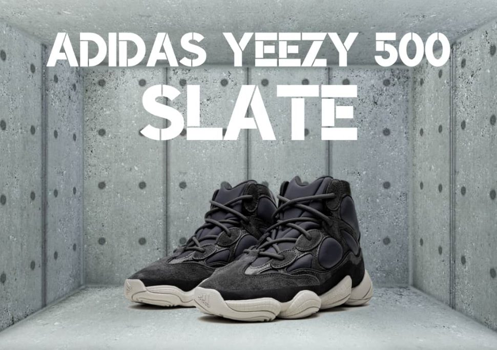 Adidas Yeezy 500 - Slate