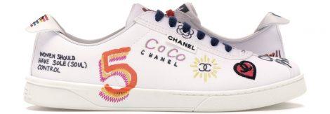 Chanel Best Sneakers Pharrell White Multi-Color