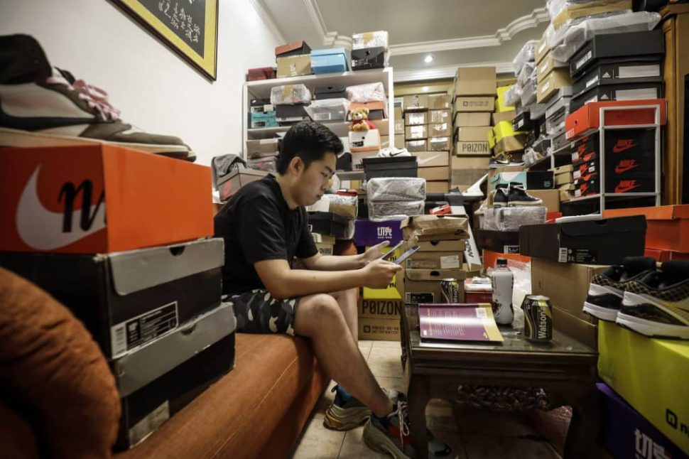Chinese Sneaker Reselling