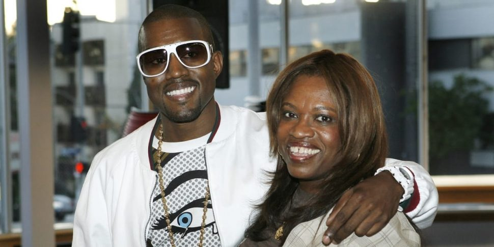Kanye and His Mother - Donda West
