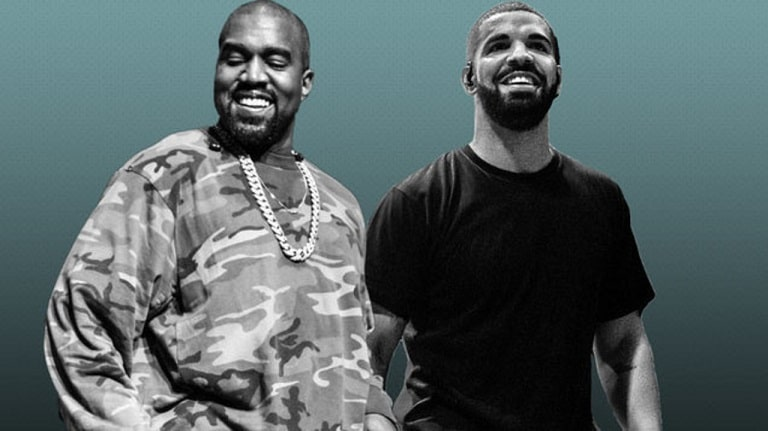 West and Drake - Kanye West facts