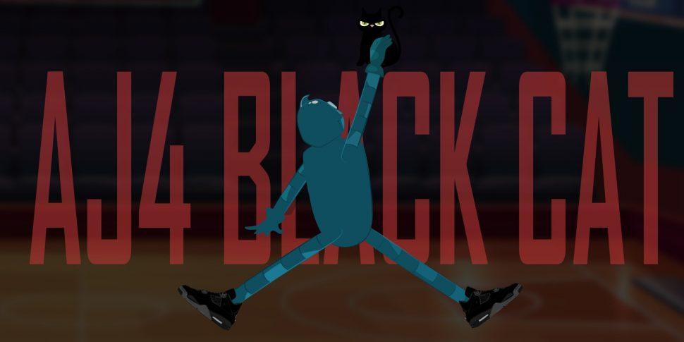 Air Jordan 4 Black Cat 2020 - AIO Bot
