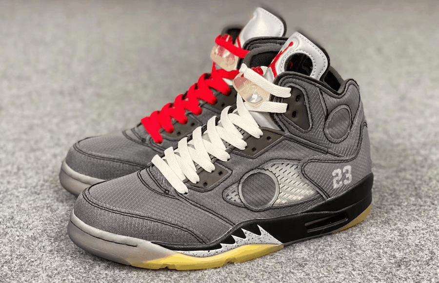 New Sneakers Off-White x Air Jordan 5