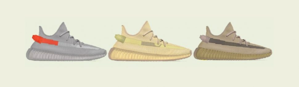 Yeezy Colorways - TAIL LIGHT - FLAX - EARTH