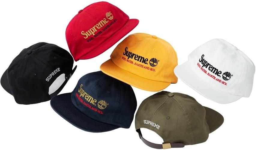 SUPREME TIMBERLAND CAPS