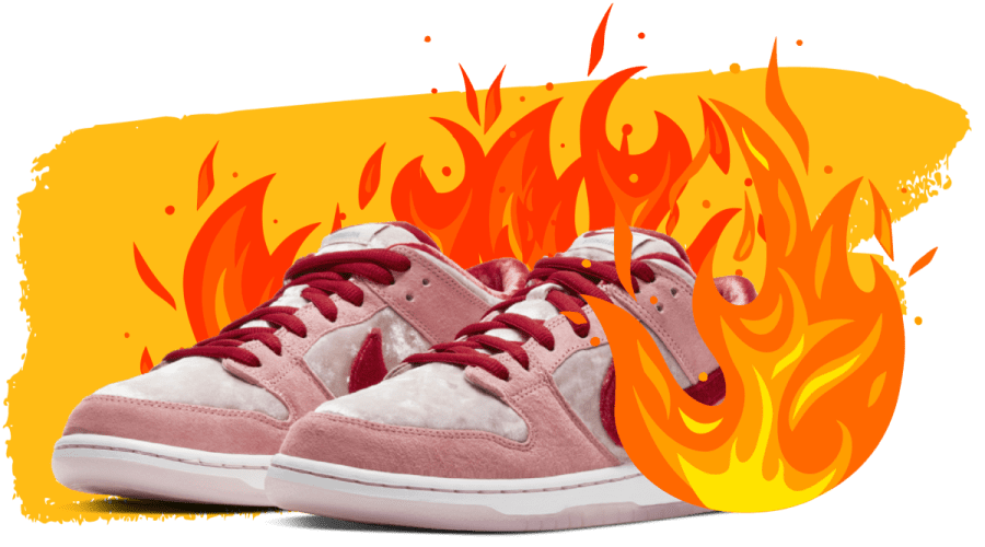 Hot sneaker collaborations
