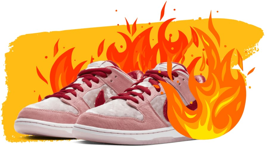 Hot sneakers collaborations