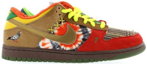 WHAT THE DUNK SNEAKERS