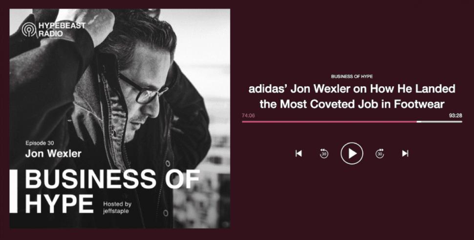 JON WEXLER HYPEBEAST RADIO