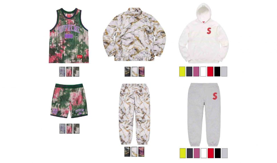 SUPREME MATCHING OUTFITS