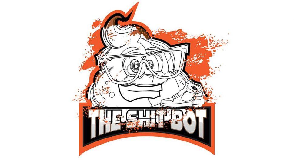 the shit bot logo
