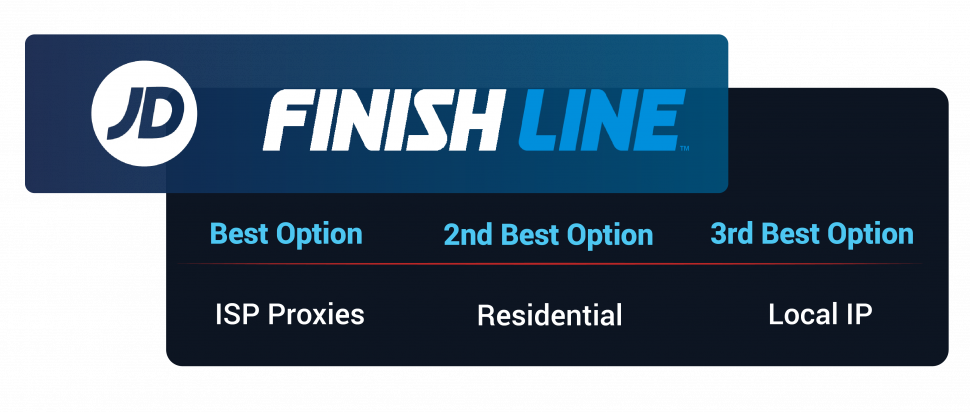 BEST PROXIES JD FINISHLINE