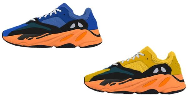 Sneaker Releases 2021 - Yeezy 700 Sun - Bright blue