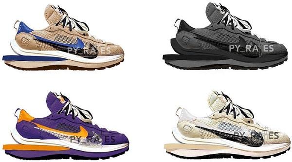 Sneaker trends 2021 - Nike Sacai Vaporwaffle