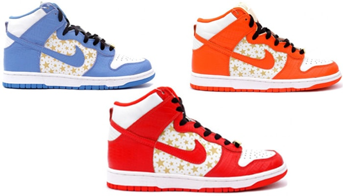 Supreme Dunk 2021 High Colorway